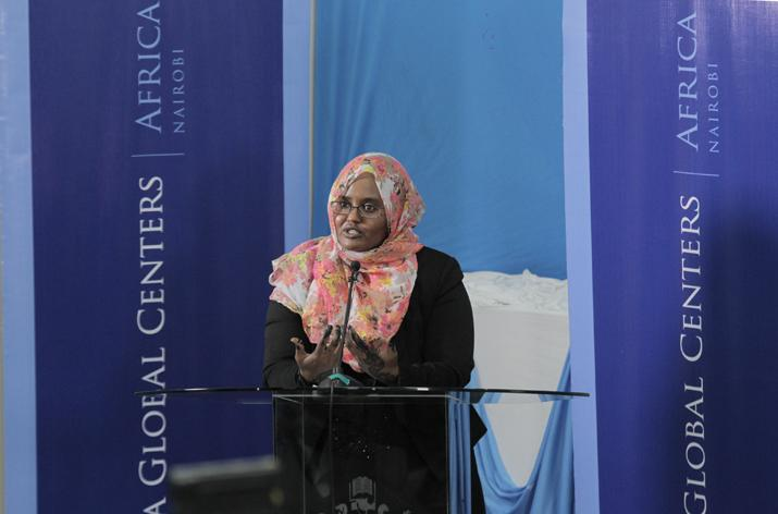 Dr. Deqo Mohamed of DHAF