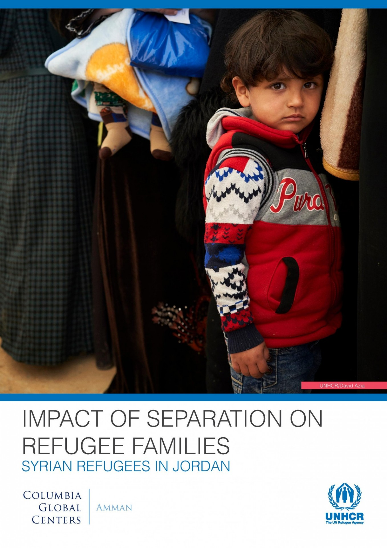 Family separation report cover photo