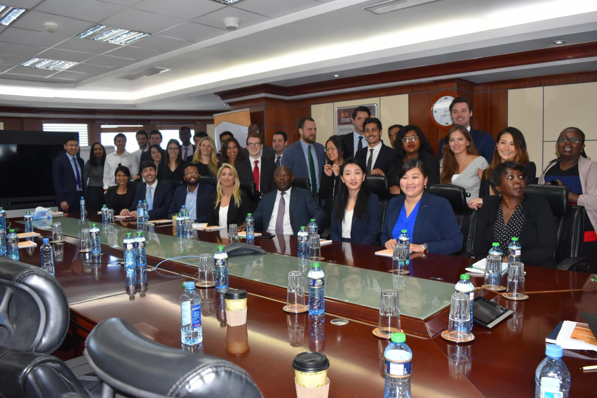 Columbia Business school Students visit Nairobi.