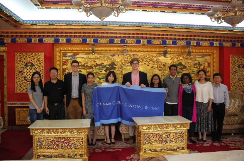 Chaplain Davis and Kraft Global Fellows at China Tibetology Research Center