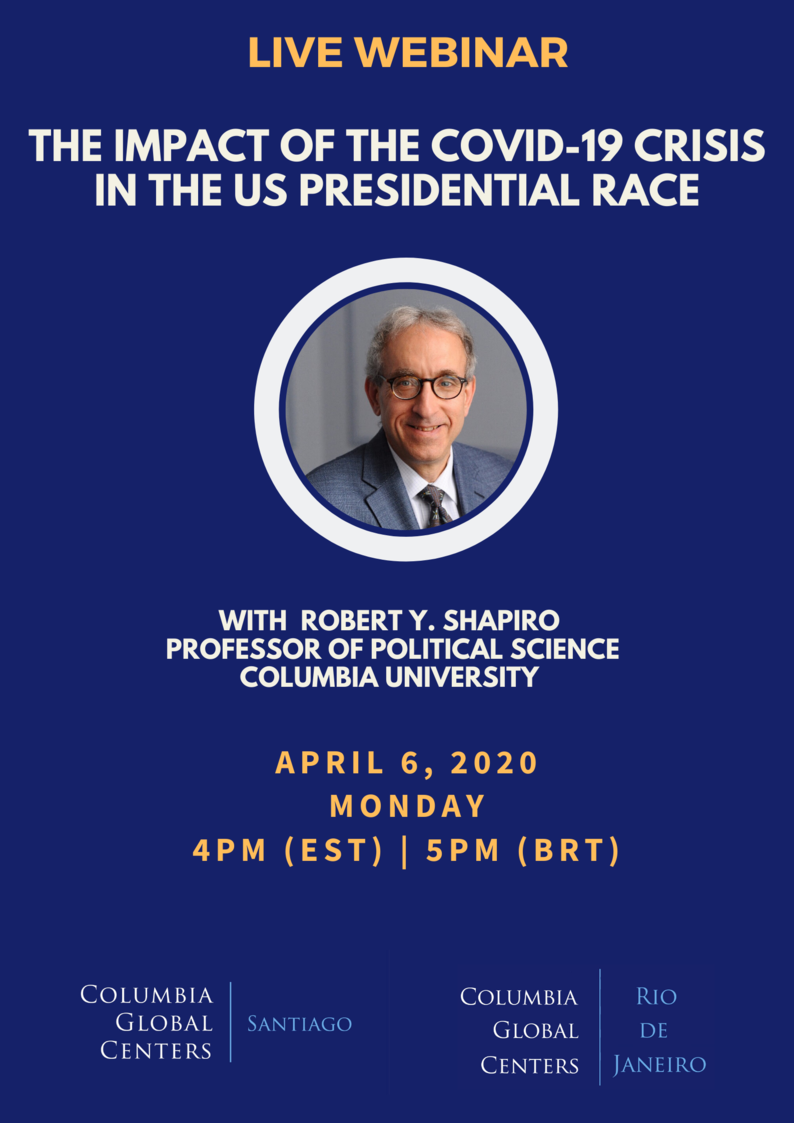 Webinar: The Impact of COVID-19 in US Presidential Race
