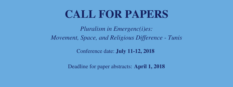 Call for Papers_PluralismConference in Tunis