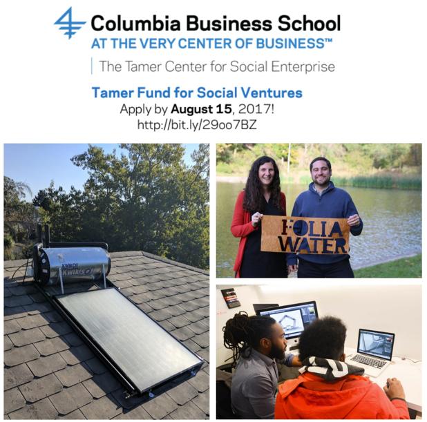 The Tamer Center for Social Enterprise: Tamer Fund for