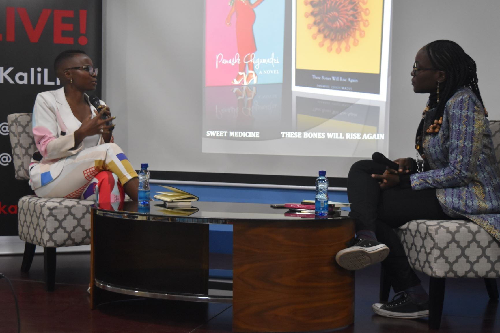 A Conversation With Author Panashe Chigumadzi based on works – 'These Bones will Rise Again' and 'Sweet Medicine'