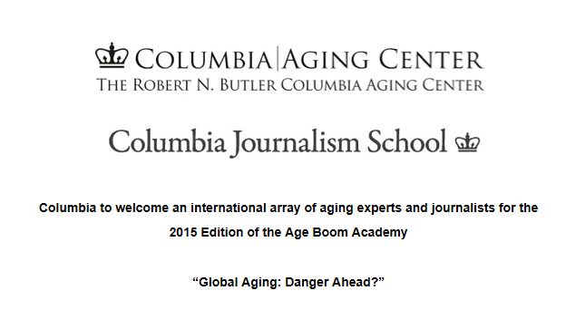 "Applications for 2015 Academy ""Global Aging: Danger Ahead?"""