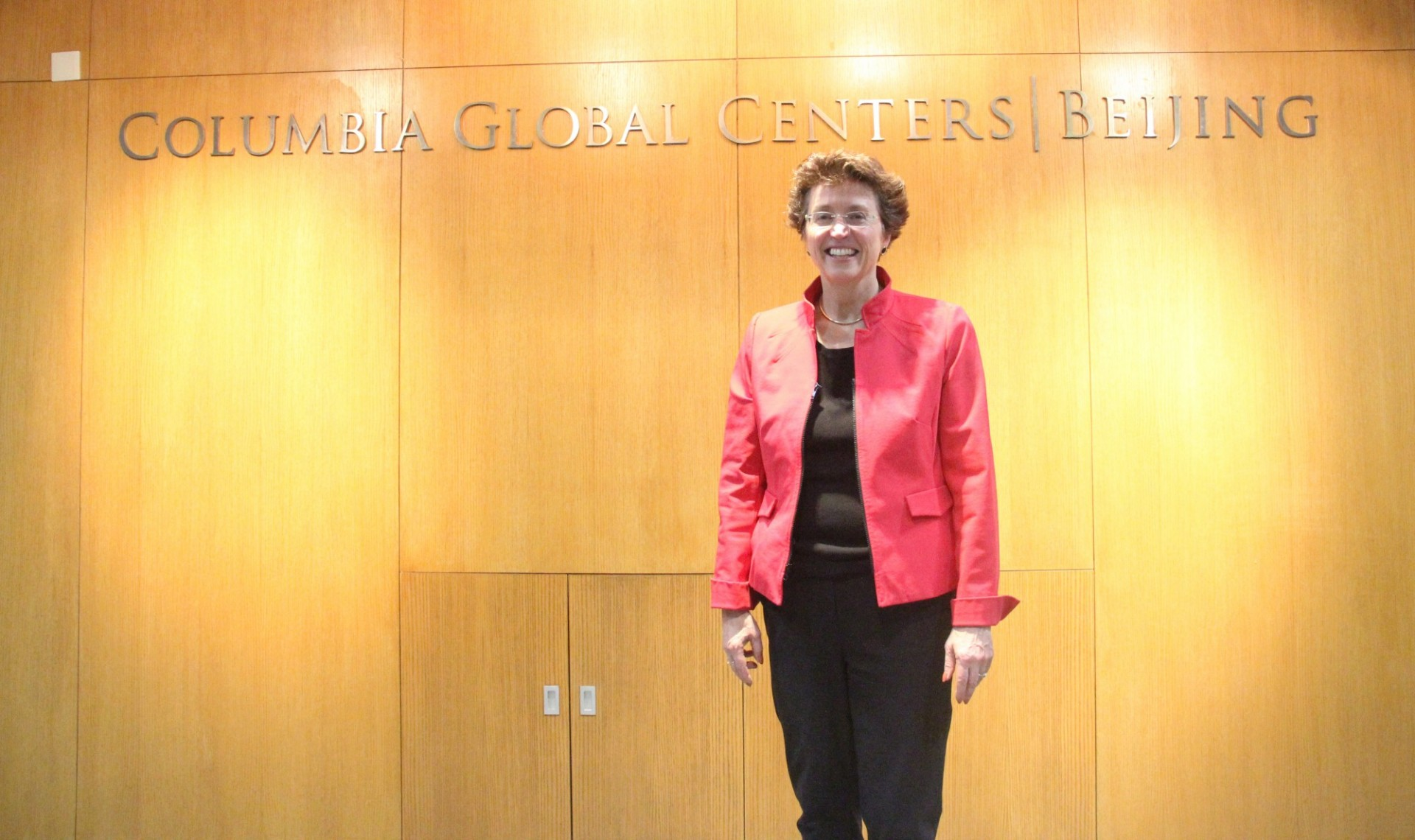 Jennifer Crew at Columbia Global Centers | Beijing, Columbia University Press