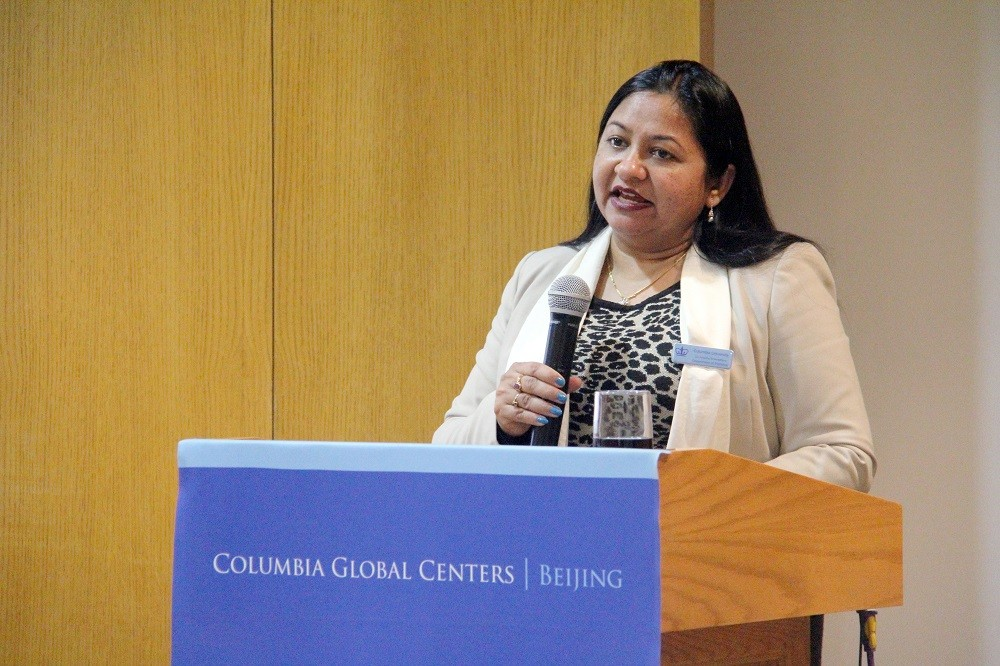 Ms. Anusha Shrivastava at Columbia Global Centers | Beijing