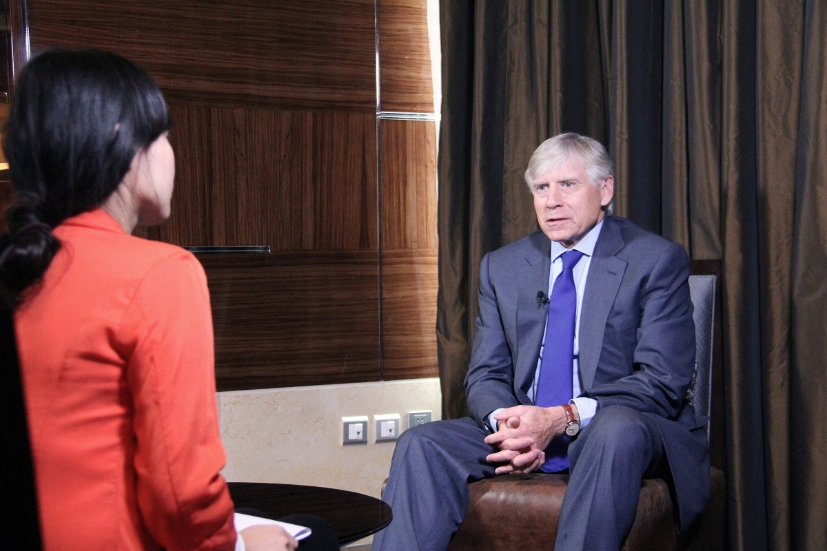 President Bollinger's Exclusive Interview with People's Daily