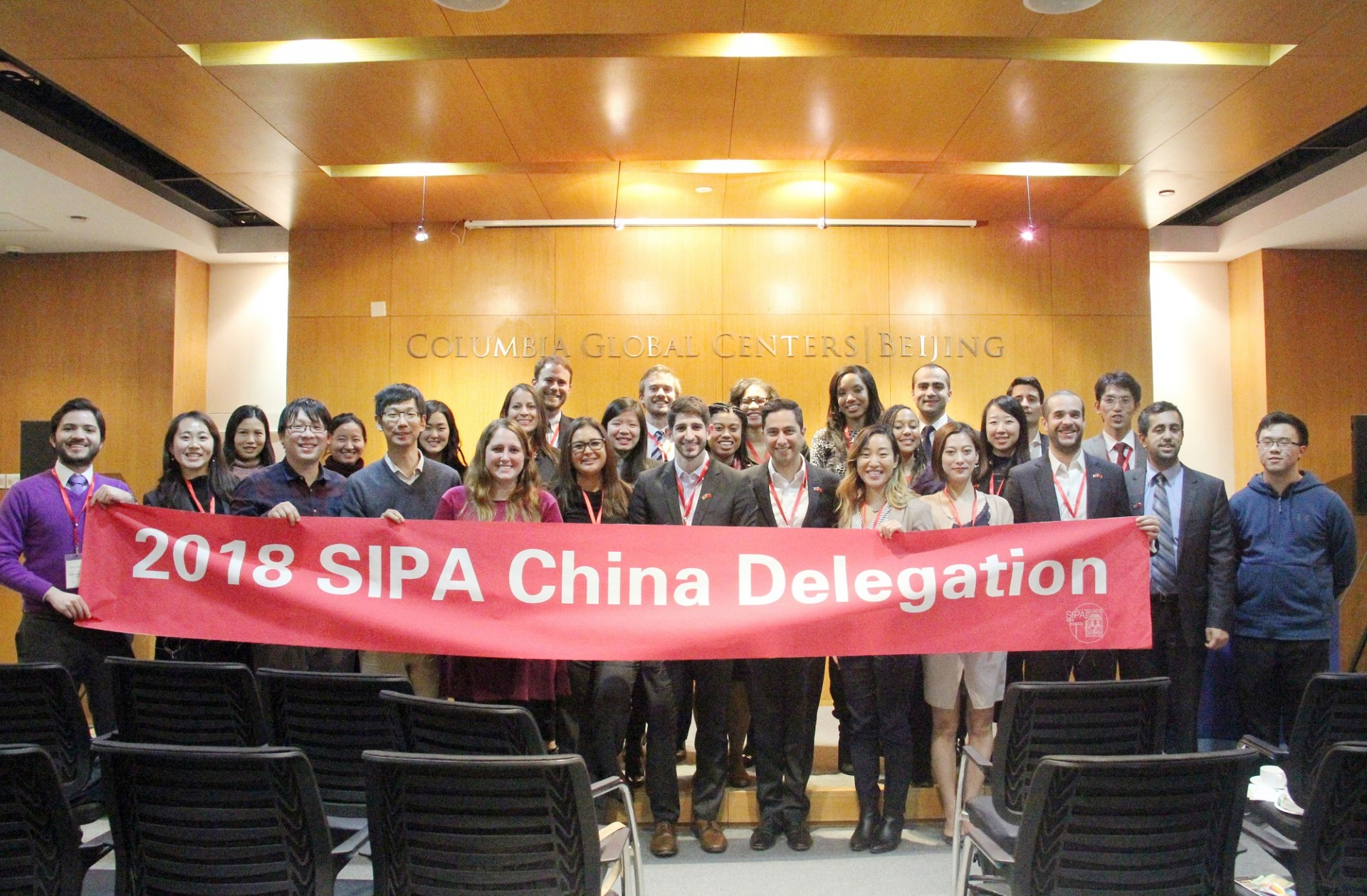 Group Photo of SIPA Delegation