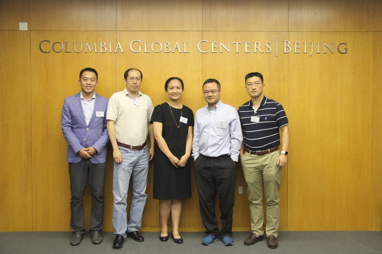 Professor Tian Zheng discusses big data and statistics with local experts