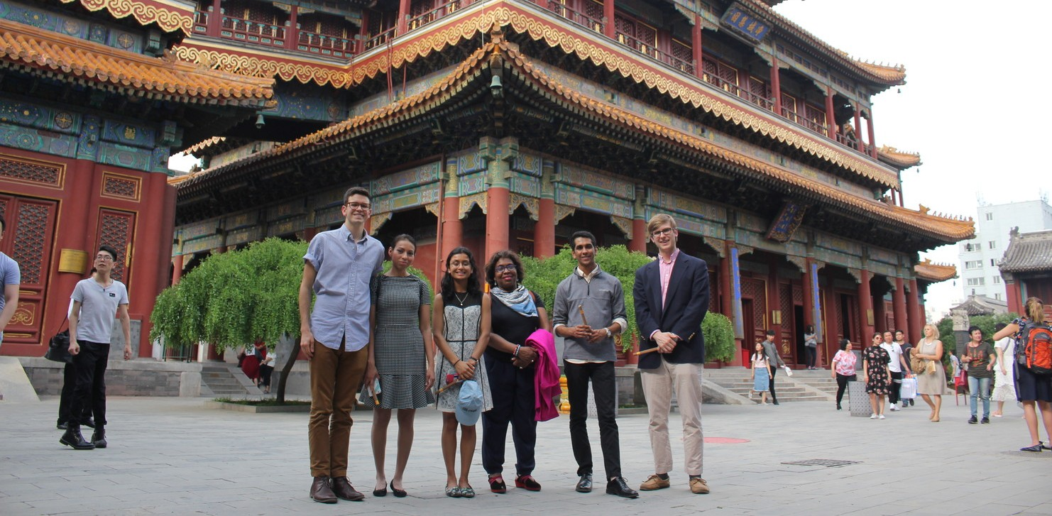 University Chaplain Jewelnel Davis and Kraft Global Fellows visit China and share interfaith and cross-cultural observations