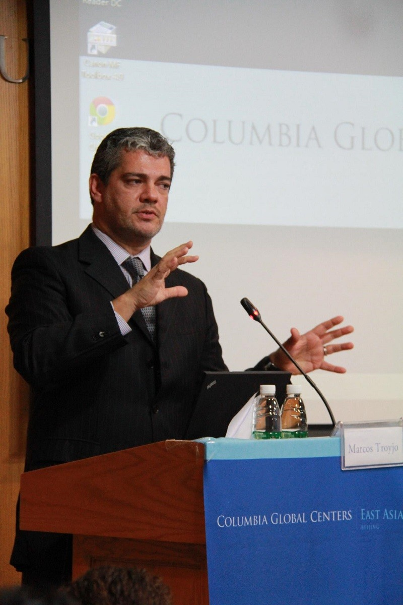 Marcos Troyjo, director of BRICLab and adjunct professor at Columbia's School of International and Public Affairs