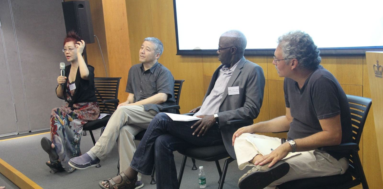 Professor Lydia H. Liu and ICLS faculty lead discussions on Bandung spirit and reflections on Afro-Asian solidarity