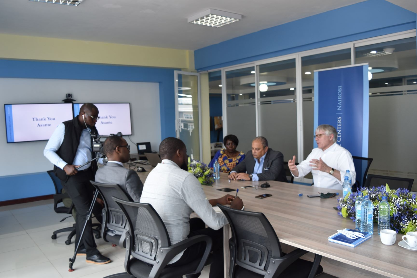 CGC | Nairobi engaging our stakeholders-Media