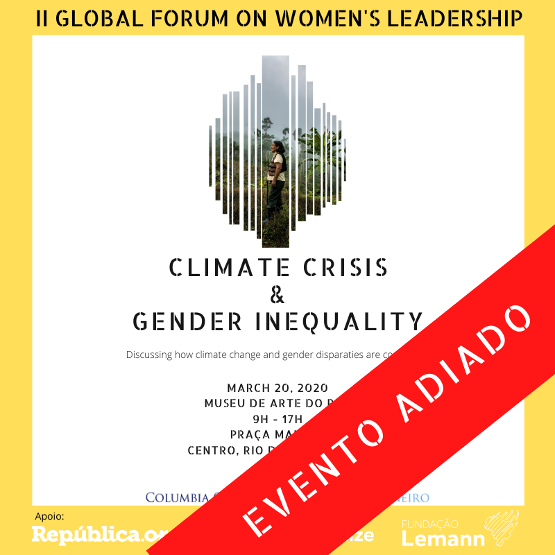 II Global Forum on Women's Leadership: Climate Crisis & Gender Inequality