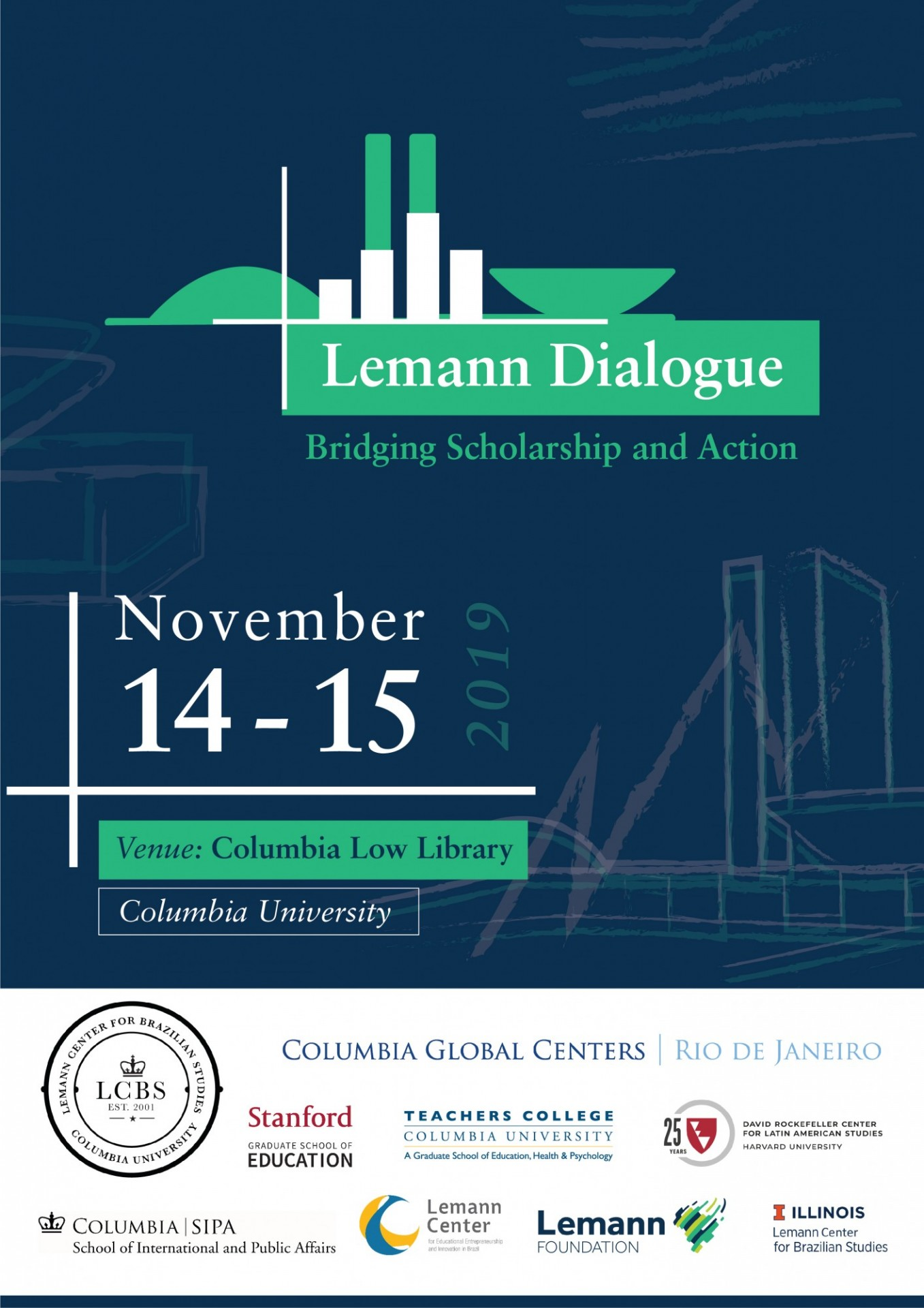 Lemann Dialogue 2019: Bridging Scholarship and Action Schedule