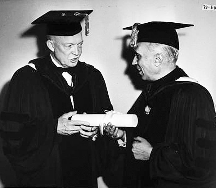 Nehru and Eisenhower
