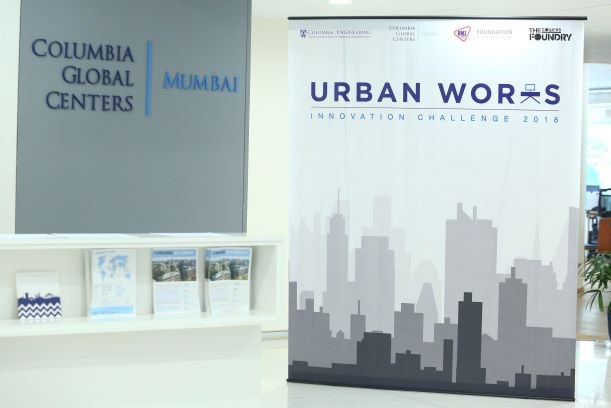 Urban Works backdrop