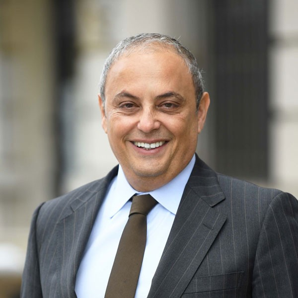 picture of Columbia University Executive Vice President of Global Development, Safwan M. Masri