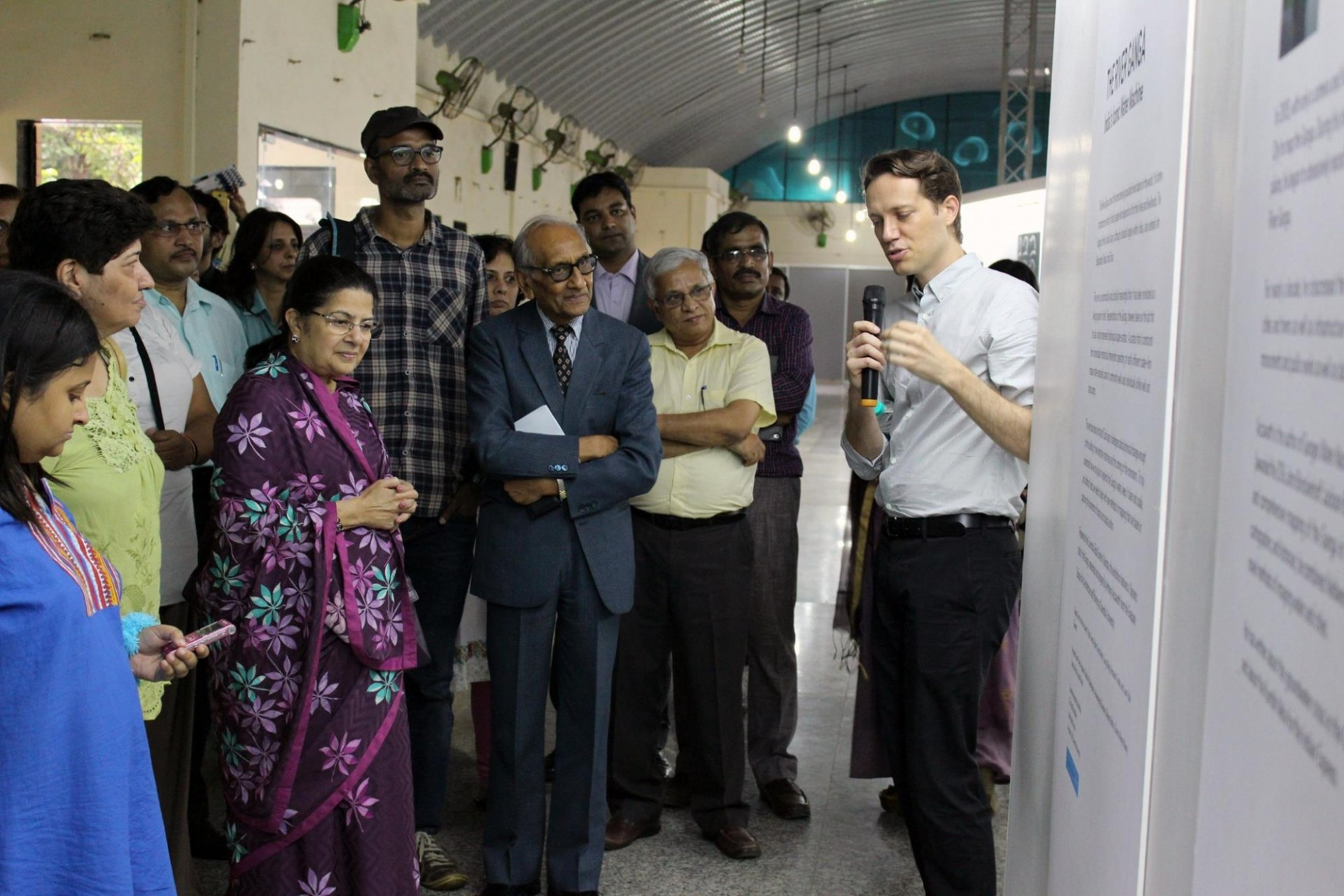picture from a launch exhibit in Mumbai