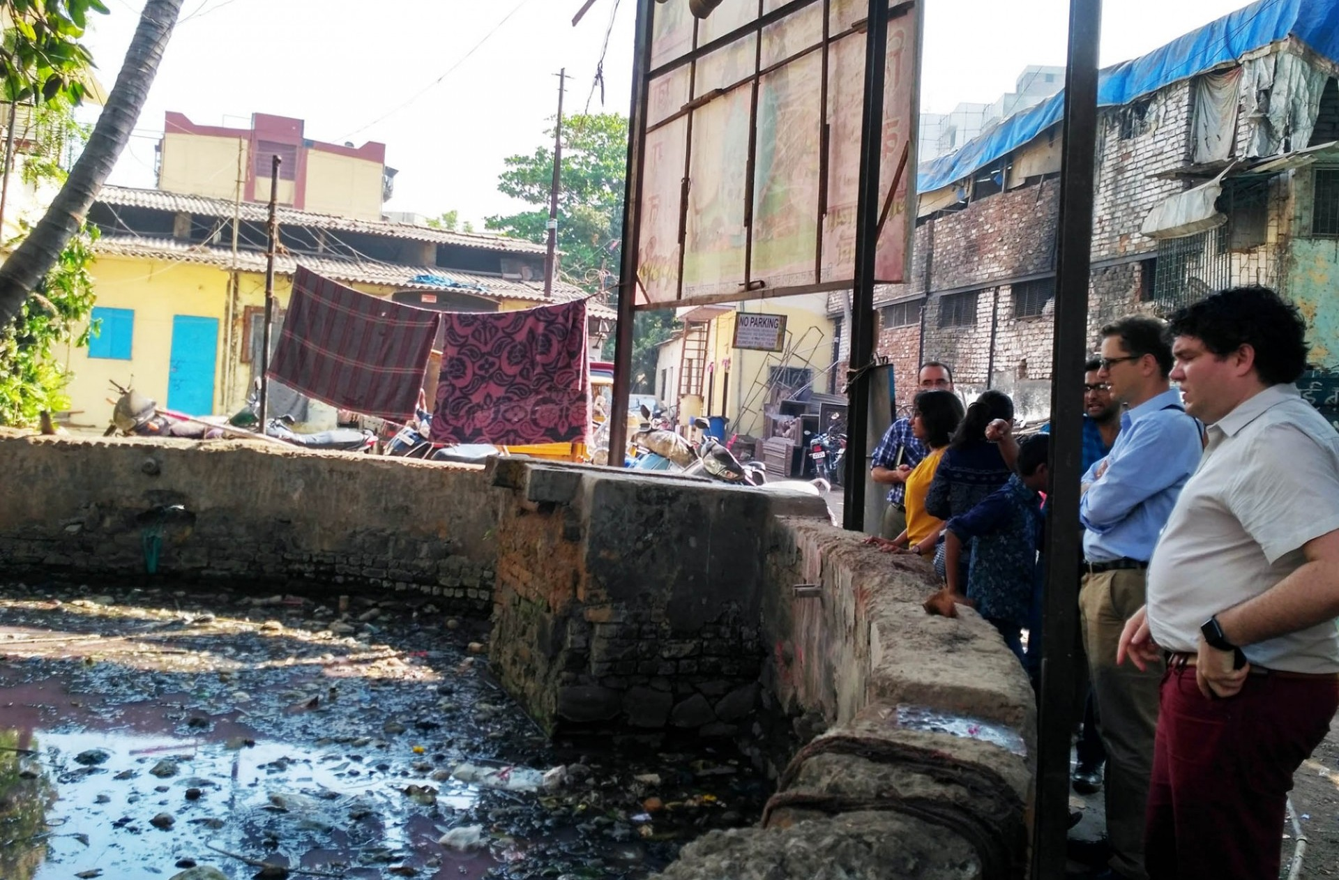 researchers looking into water well in mumbai