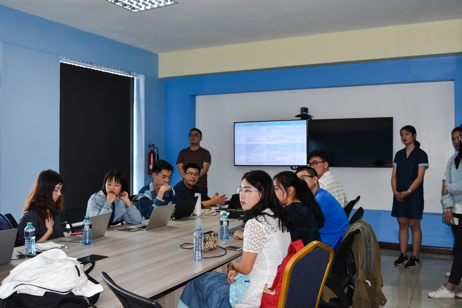 Chinese Students Research on SDG's