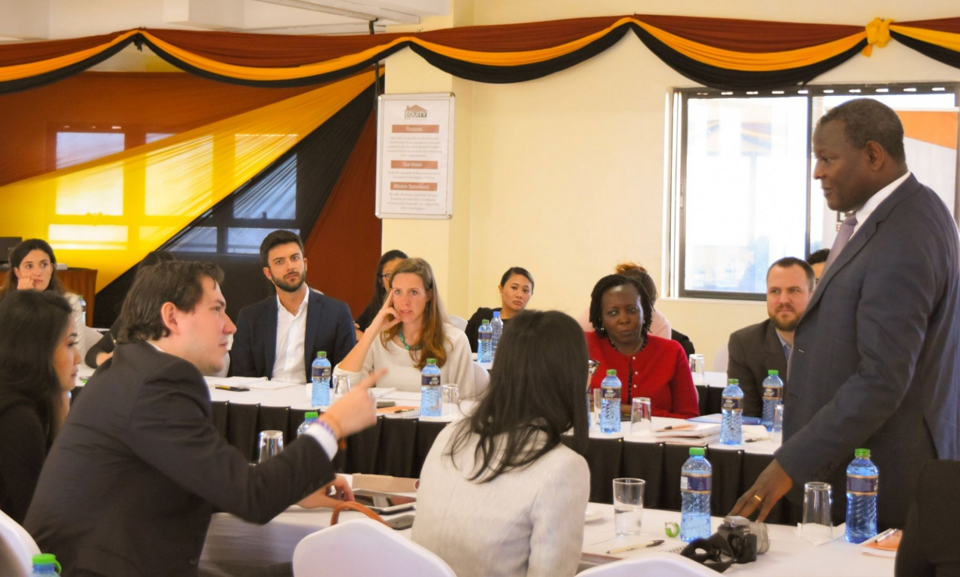 Columbia MBA Student Immersion Session in Kenya
