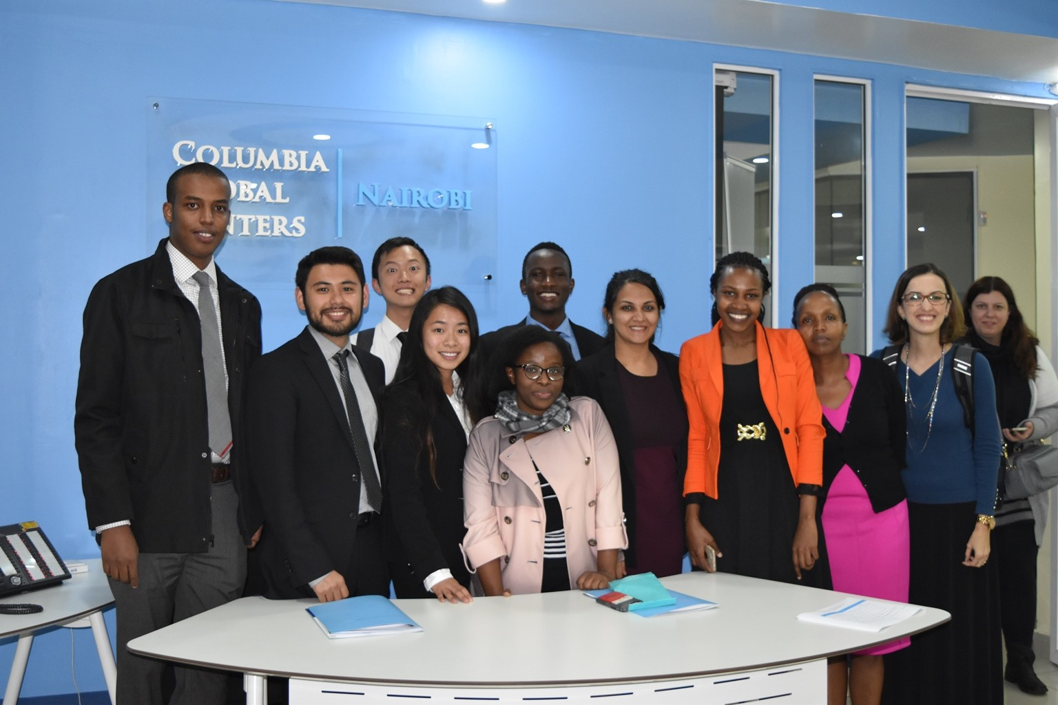 Columbia University and University of Nairobi Students