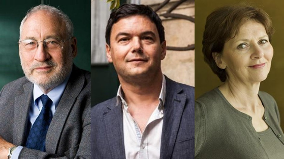 Stiglitz Piketty and Kauffmann