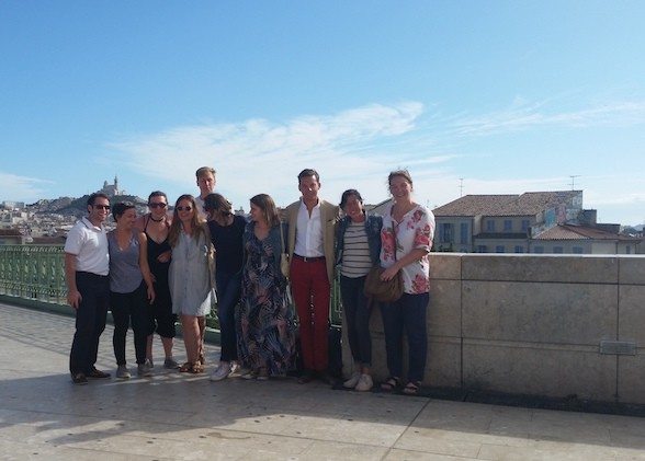 MA students in Marseille