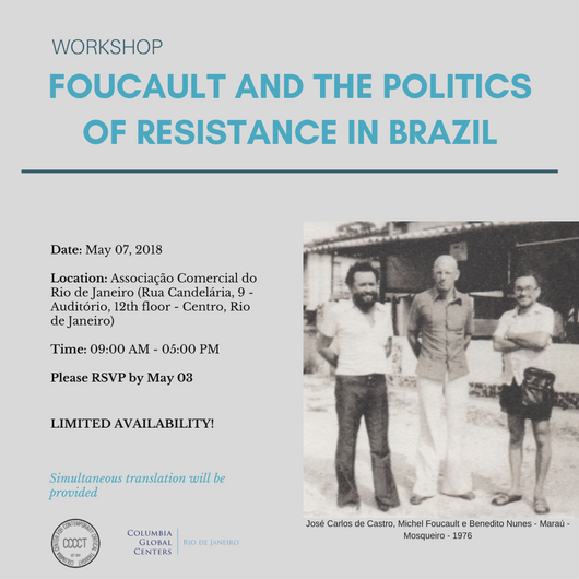 Invitation: workshop Foucault