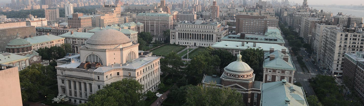 Columbia University view from above