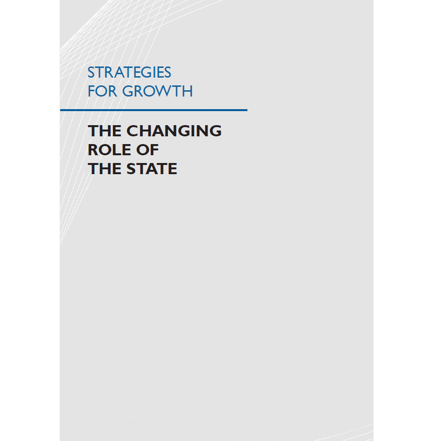 Strategies for Growth: The Changing Role of the State cover