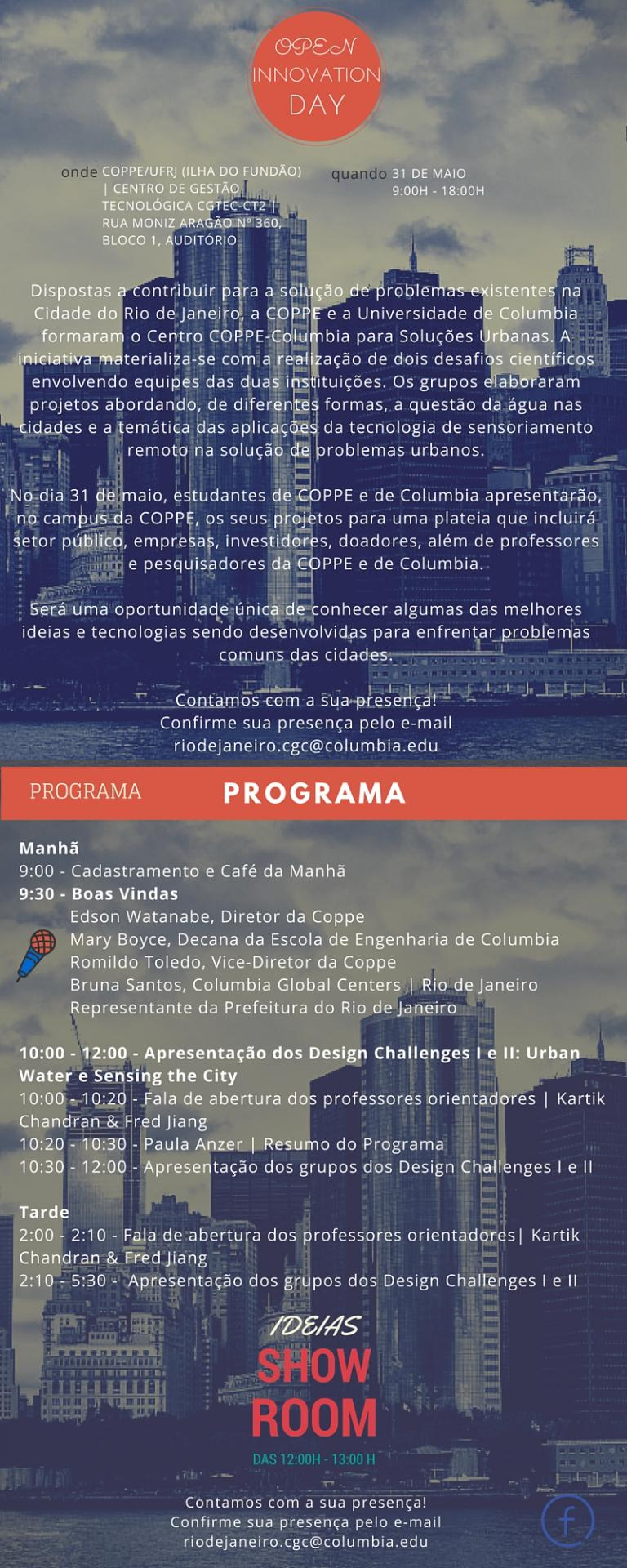Program Coppe - Columbia