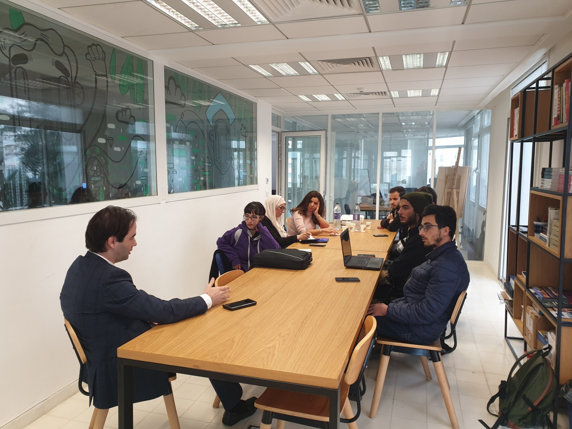 Artaqi Team Visits CGC Tunis
