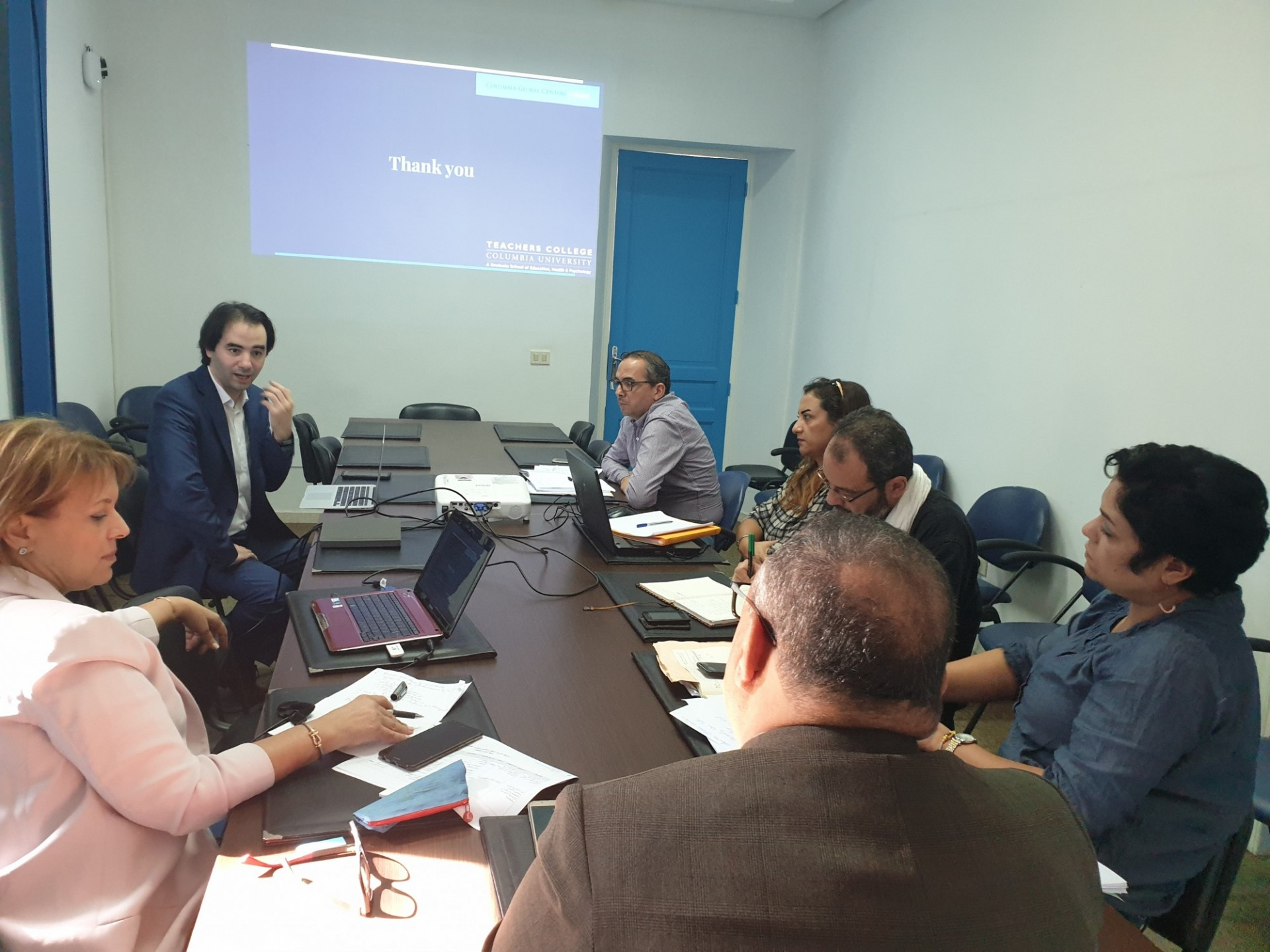 CGC Tunis - Tunisian Ministry of Education ( CENAFOP ) meeting