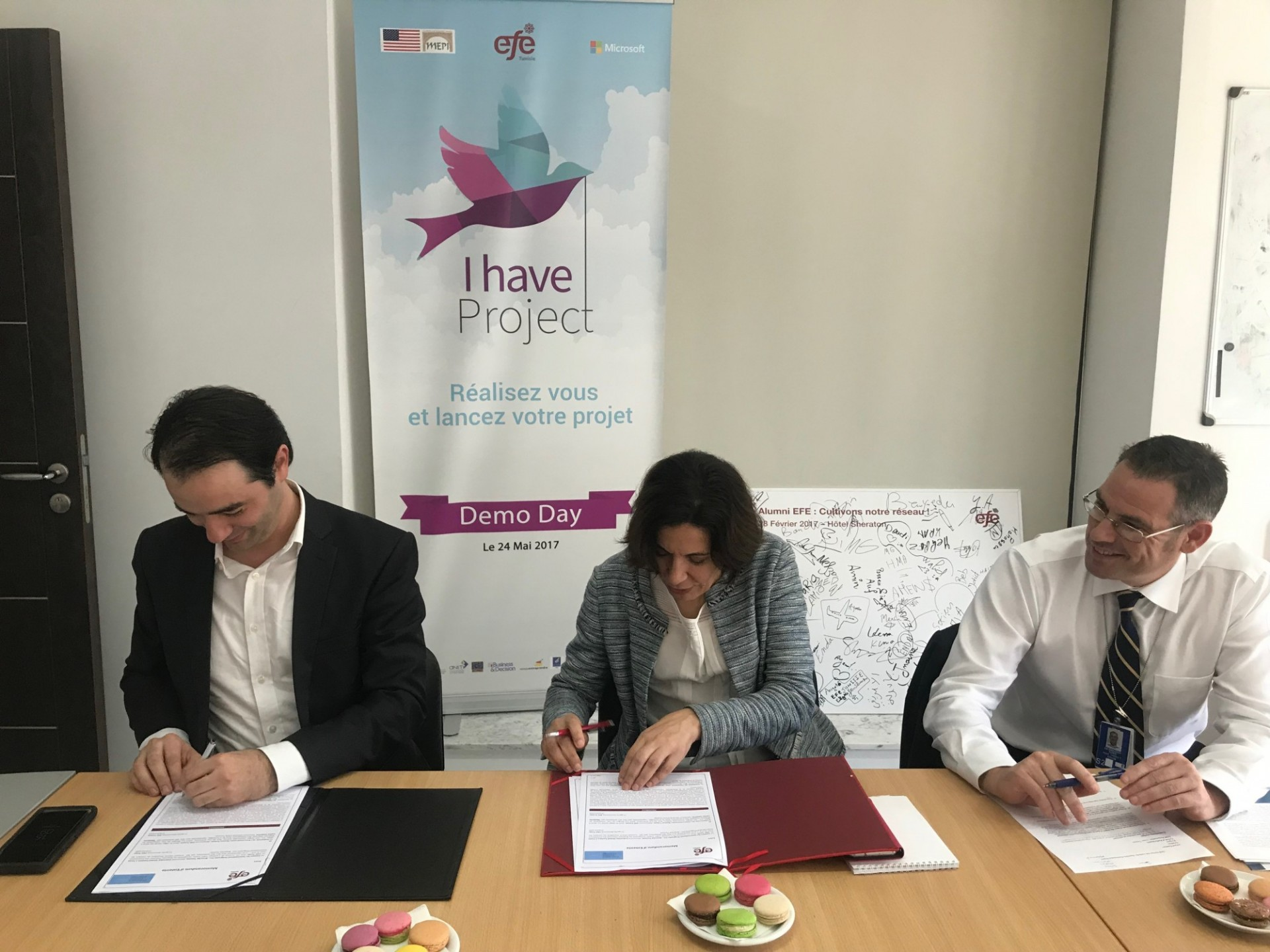 Columbia Global Centers | Tunis & Education for Employment Tunisia MoU