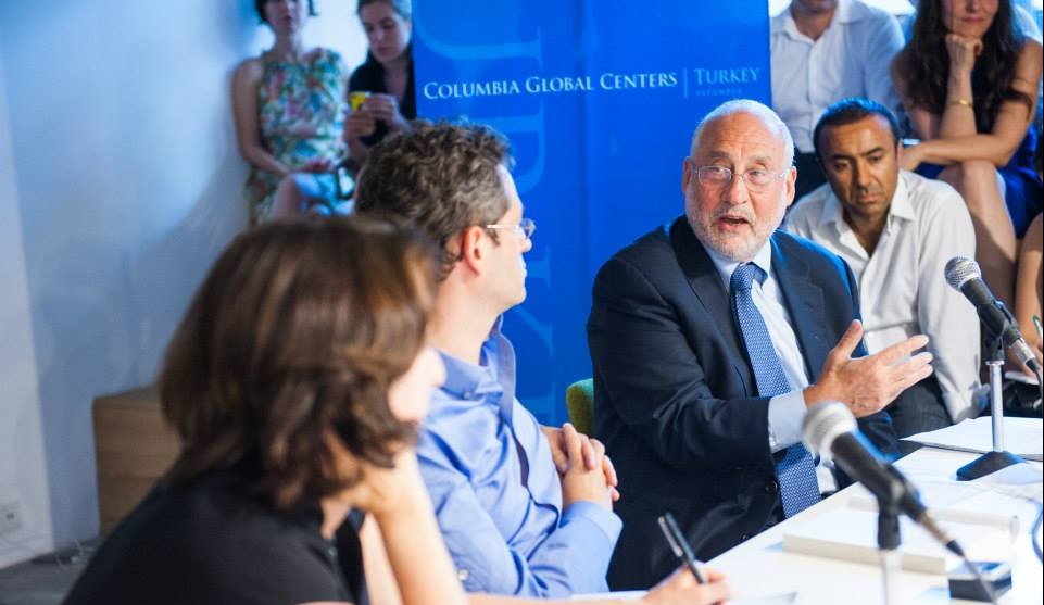 Panel with Nobel Prize-winning economist Joseph E. Stiglitz and Anya Schiffrin