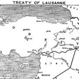 The Impact of The Lausanne Peace Treaty in the World