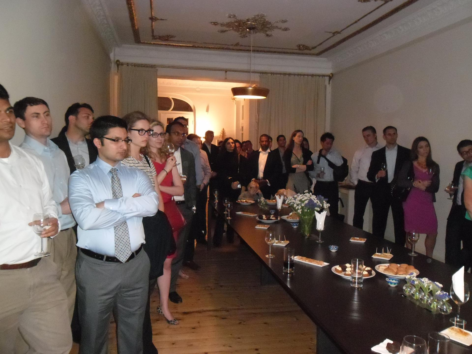 Columbia Business School Executive MBA Trip and Reception