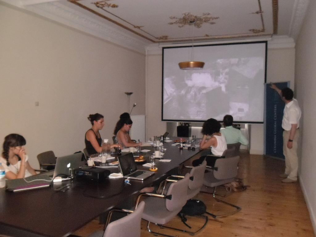 Byzantine Studies and Urban Mapping Summer Program Commences