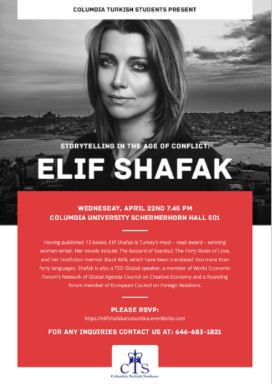 Elif Shafak: Storytelling in the Age of Conflict