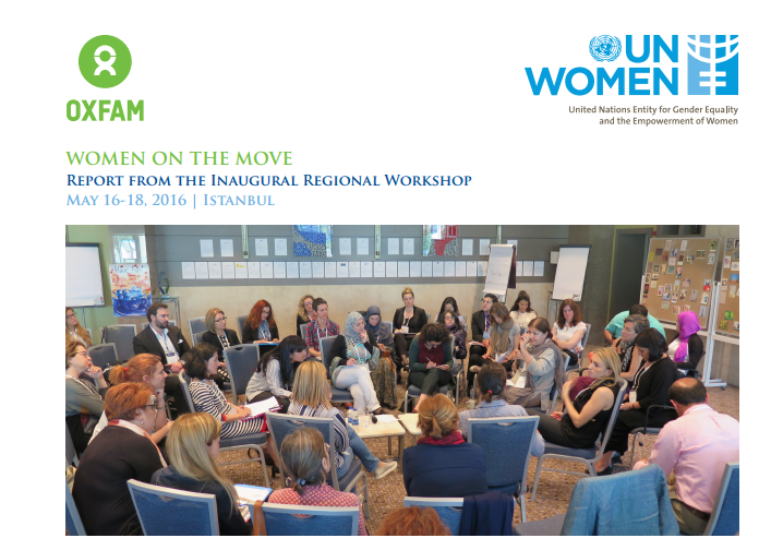 WOMEN ON THE MOVE - Report from the Inaugural Regional Workshop May 16-18, 2016 | Istanbul