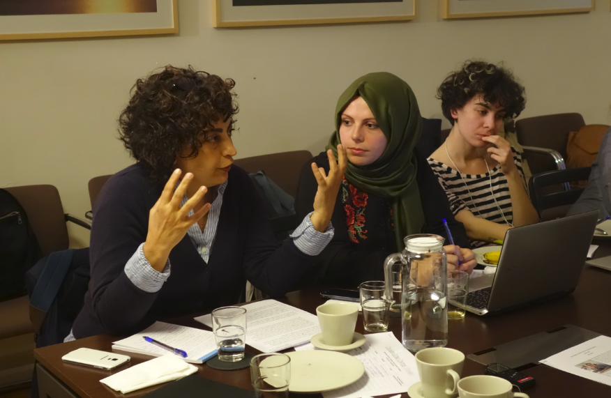 Reframing Gendered Violence Project Istanbul Workshop
