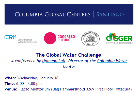 The Global Water Challenge