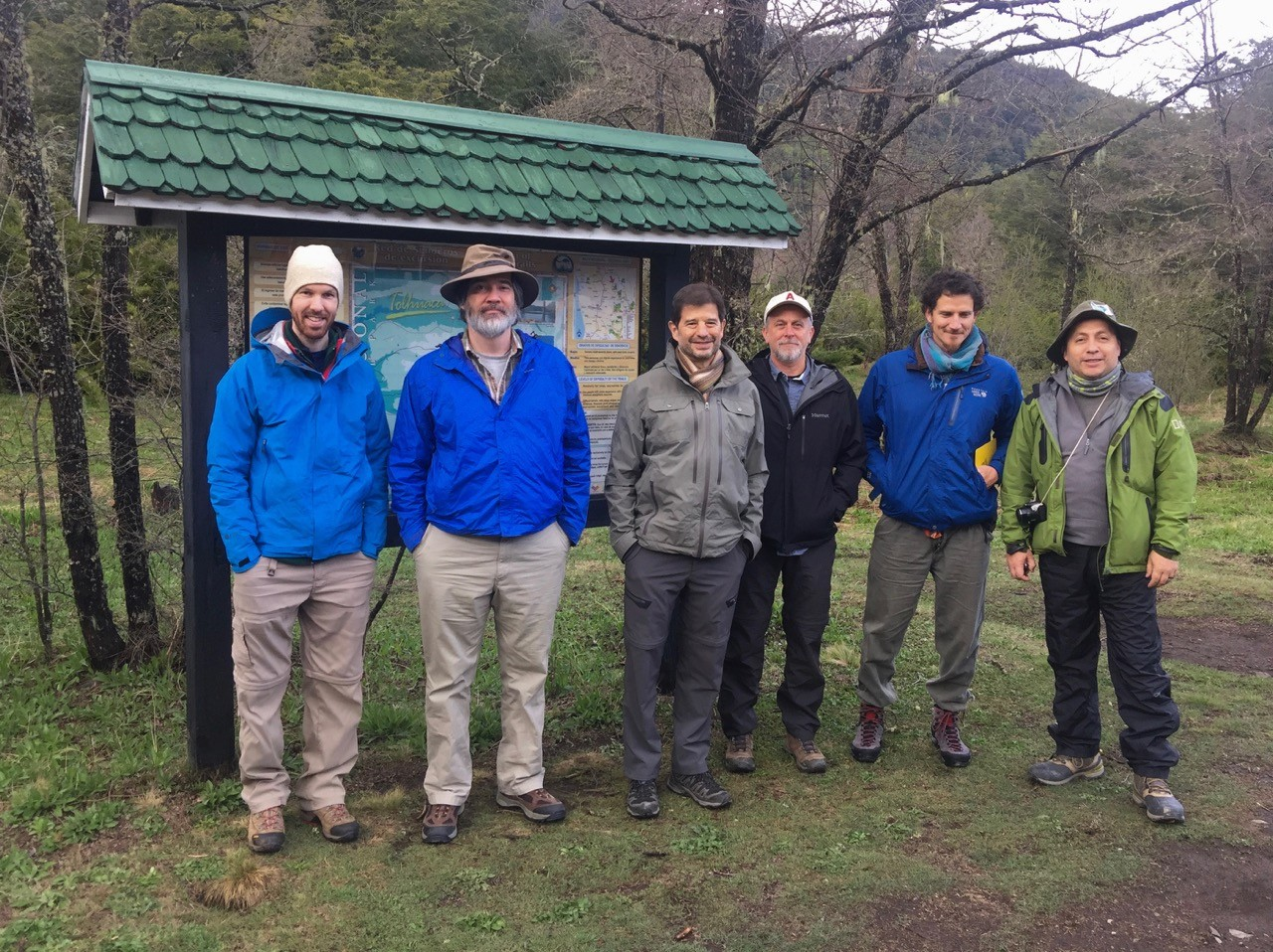 Don Melnick and his team at Malleco National Park and Tolhuaca National Reserve