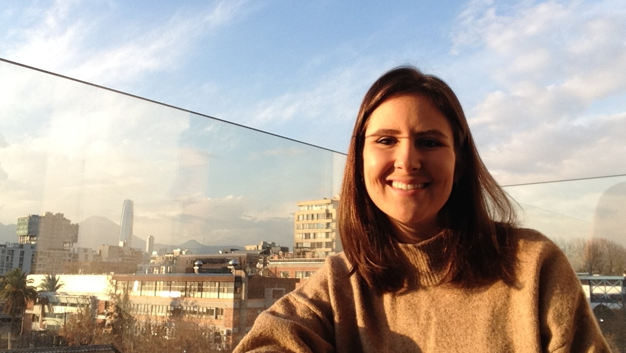 Eleanor Katz, a Columbia SIPA MPA-Development Practice candidate, is working in Chile on a Columbia Center on Sustainable Investment (CCSI) project