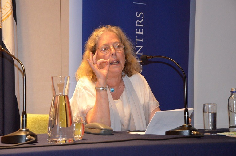 "Marjorie Agosin freatured the conference ""Anna Ajmátova: Between History and Poetry"""