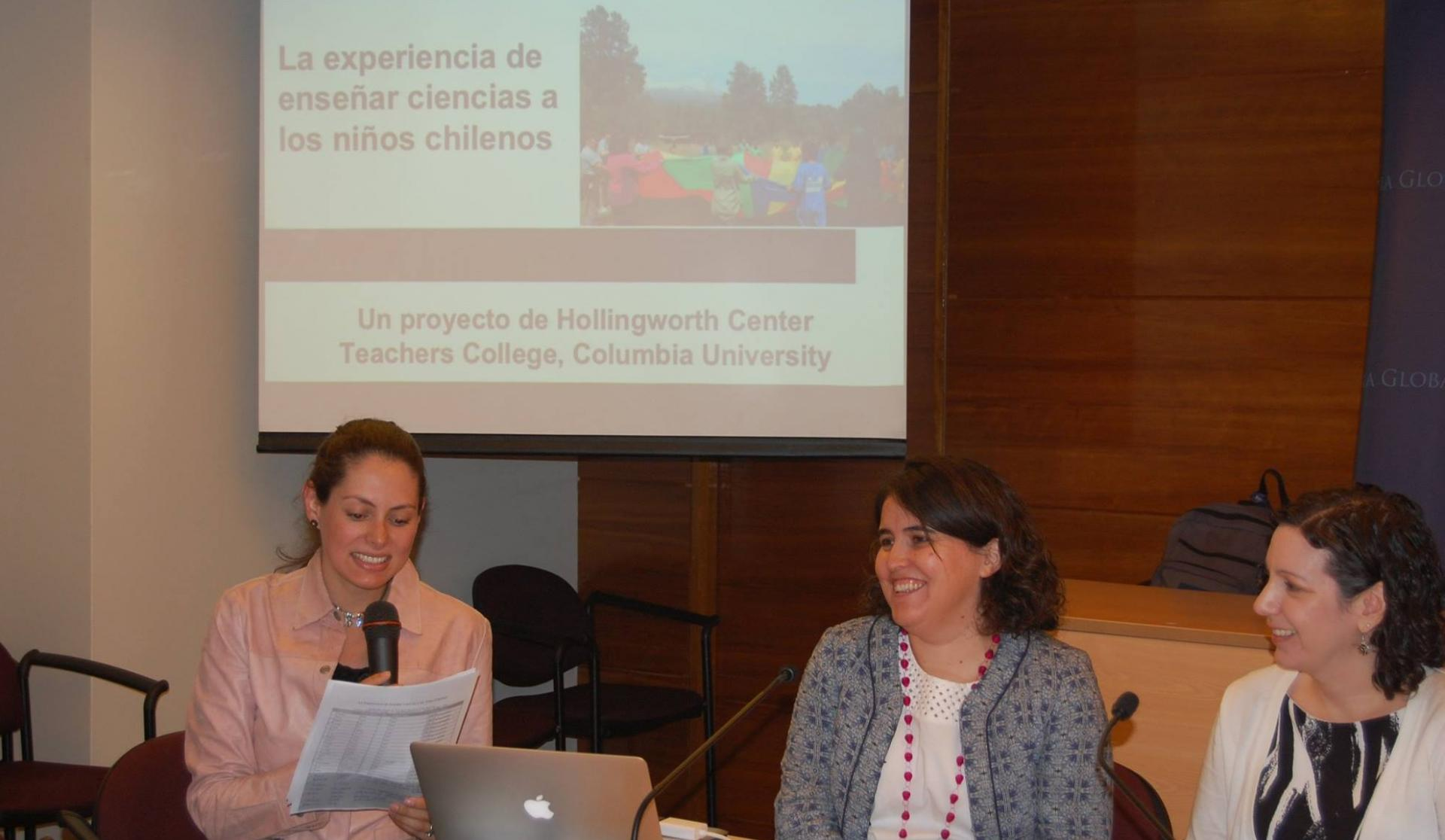Lecture: The Experience of Teaching Science in Chile