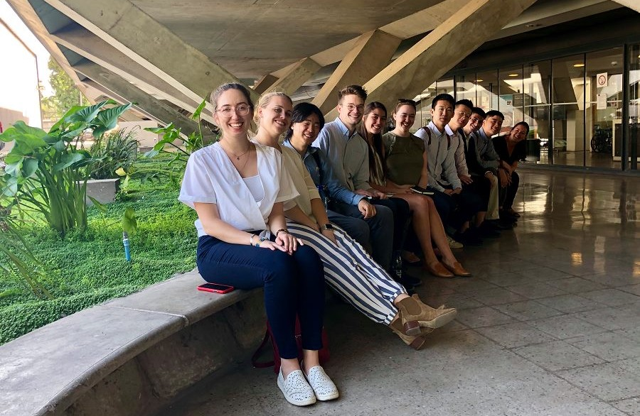 Students from Columbia GSAPP's Urban Planning Visit Areas hit by 2017 Wildfires
